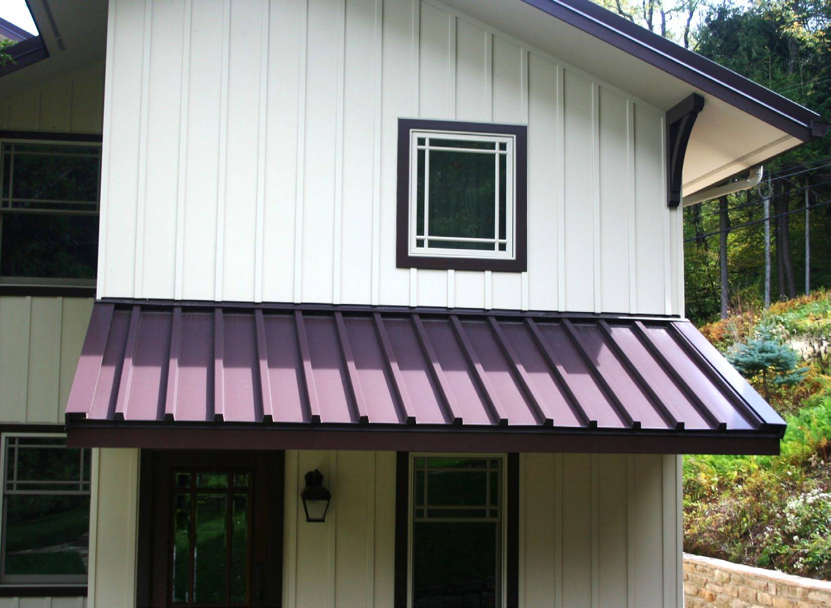 Bold And Timeless Batten Seam Metal Roofing Metal Architecture