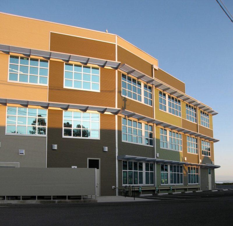 Gaston Bay Building Bellingham Wash Metal Architecture