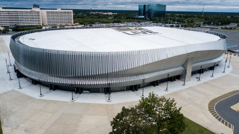Colossal Coliseum Recladding Metal Architecture