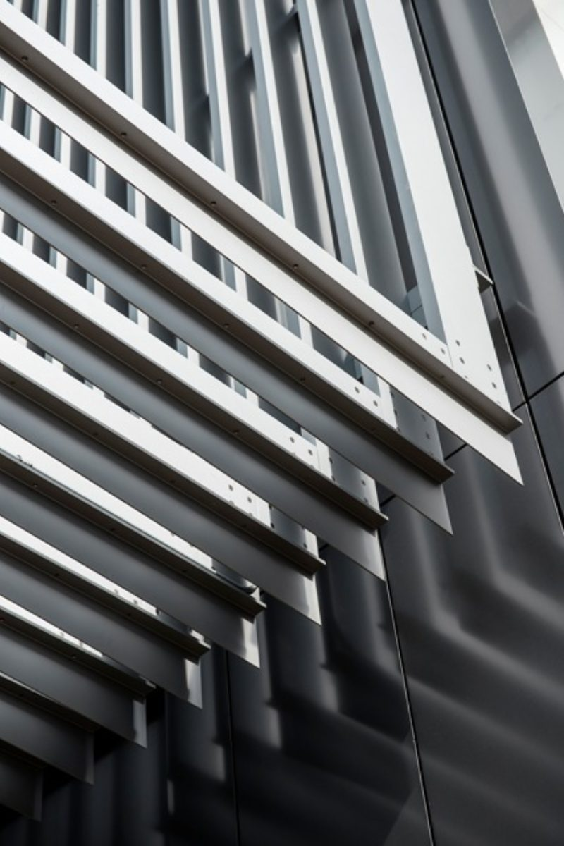 Reciprocal Repetition Metal Architecture