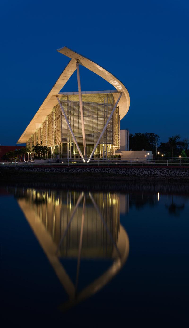 Sailboat Pavilion Metal Architecture