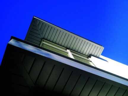 Metal Soffit Panels Featured In Metal Metal Architecture