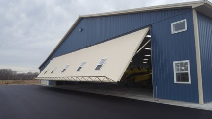 Power Lift Hydraulic Doors Aircraft Hangar Doors 111