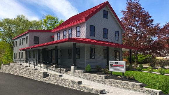 Renovation modernizes office