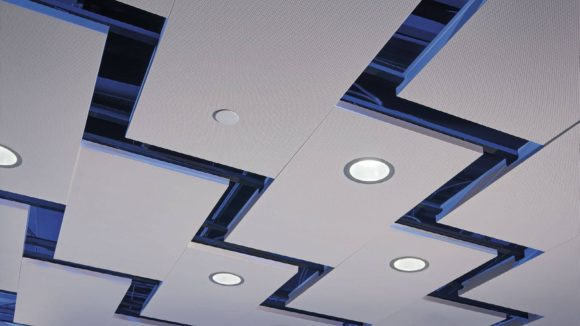 Lightning Bolts in the Ceiling Make Lasting Impression