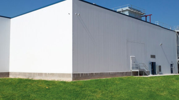 Temperature-Controlled Expansion Facility