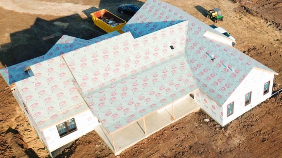 Underlayments work with metal roofing