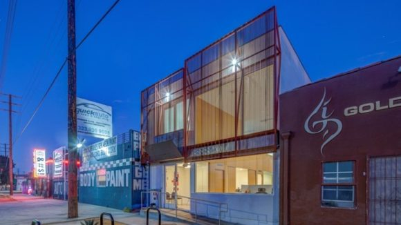 Infill project emits light