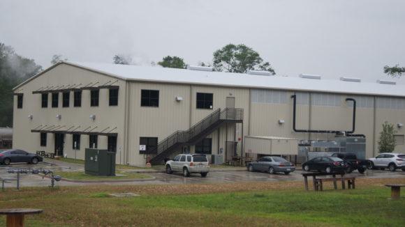 Metal building combines operations