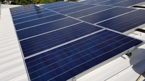 A Secure Hawaiian Solar Array