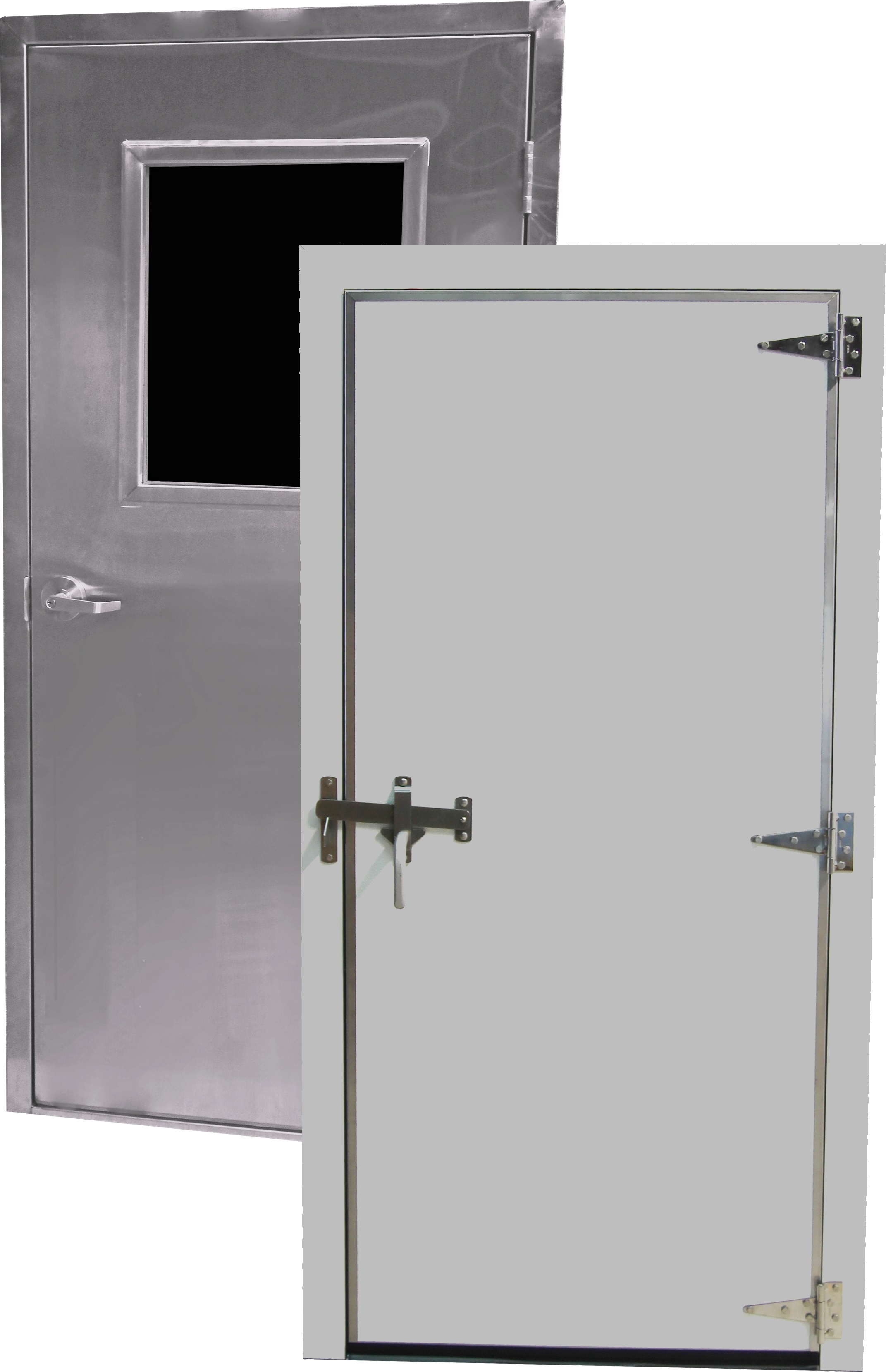 Doors Contain Insulating Core Metal Architecture