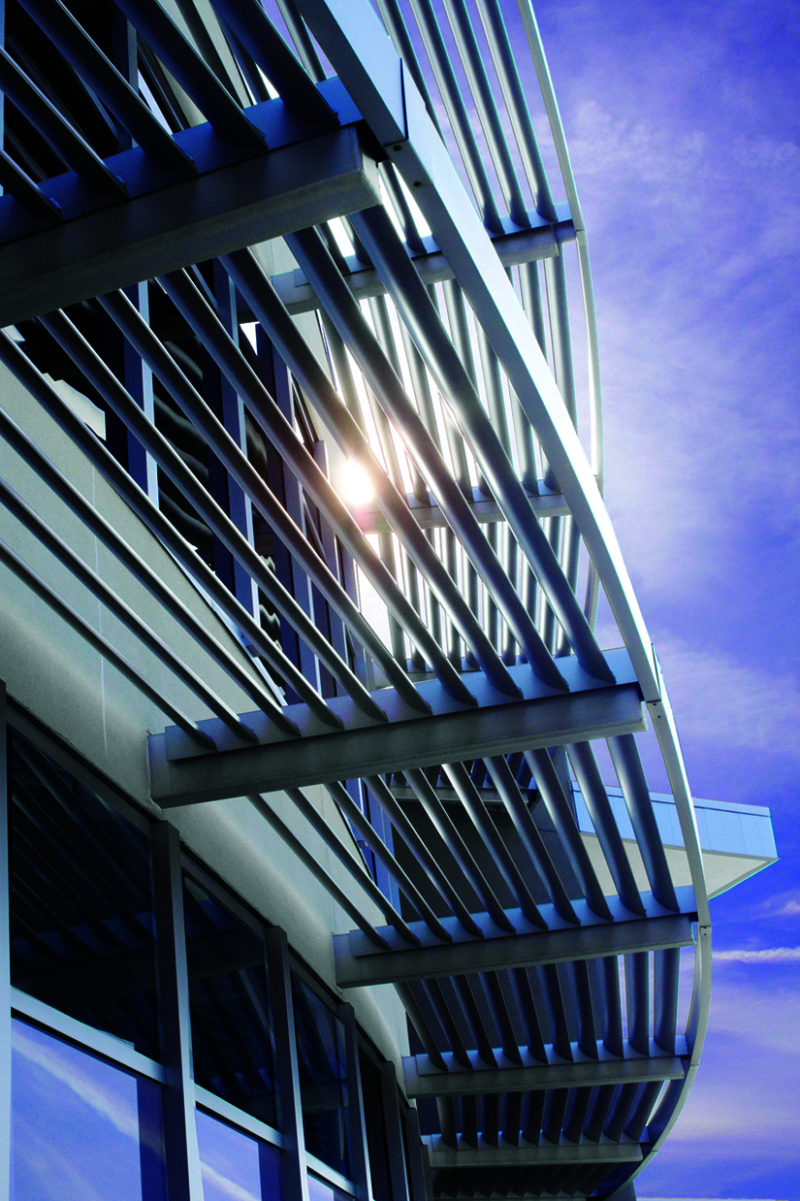Designing With Metal Louvers Metal Architecture