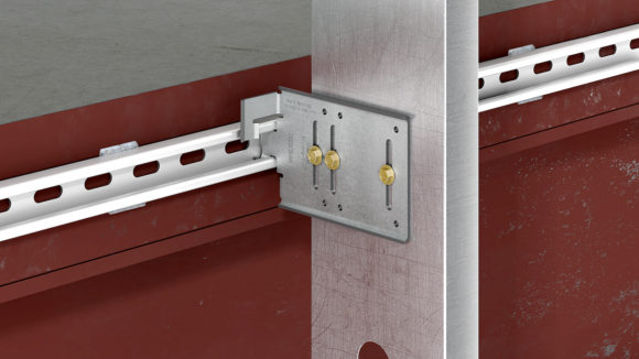 Connector has pre-punched slots