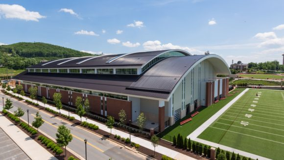 Indoor Football Practice Facility at Liberty University, Lynchburg, Va.