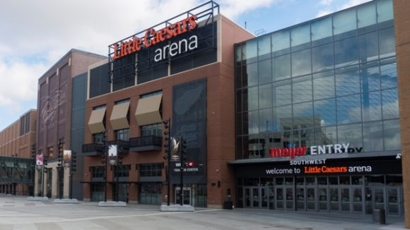 Little Caesars Arena, Detroit