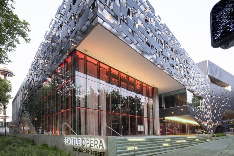 Seattle Opera's Opera Center | Metal Architecture