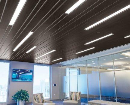 Panels Create Linear Designs Metal Architecture