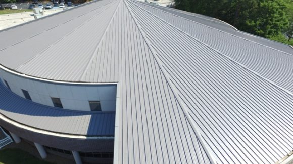 Metal roof provides longevity