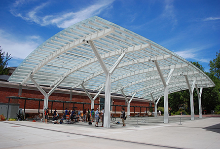 Ma Structural Steel Canopy Bending
