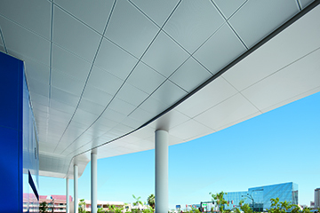 Metal Architecture Daily News Metalworks Torsion Spring Ceilings From Armstrong Now