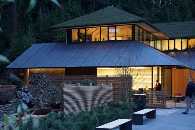 The Cultural Center at the Portland Japanese Garden is the Metal Roofing winner in the 2017 Metal Architecture Design Awards