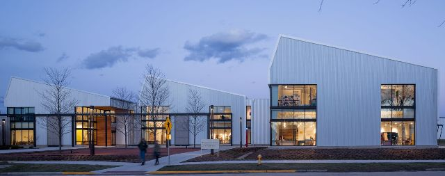Knox College's Witcomb Art Center is the Metal Building winner in the 2017 Metal Architecture Design Awards