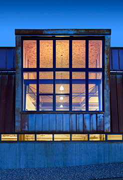 2015 Metal Architecture Design Awards, Natural Metals winner, Pearl Izumi North American Headquarters, Arch11, ZPF Architects, Drexel Metals