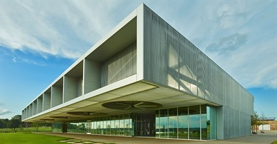 First Tennessee Visitor Center at Shelby Farms Park in Memphis, Tenn., is the Grand Award Winner in the 2017 Metal Architecture Design Awards.