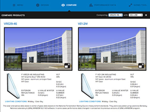 viracon releases viraconglass web app metal architecture