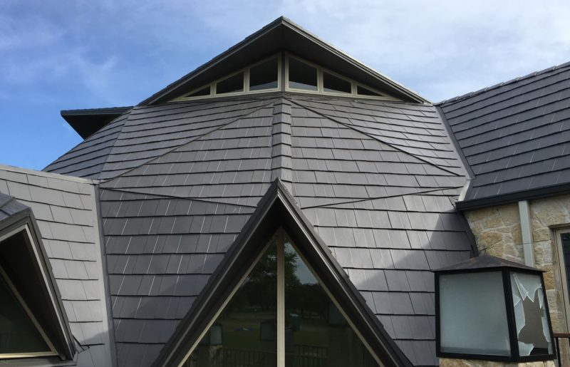 Complex Aluminum Roof Project Produces Beautiful Result