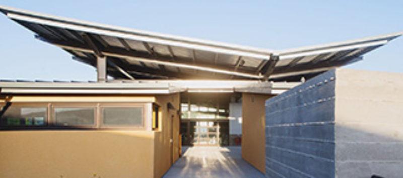 Gravity Centric Design Metal Architecture