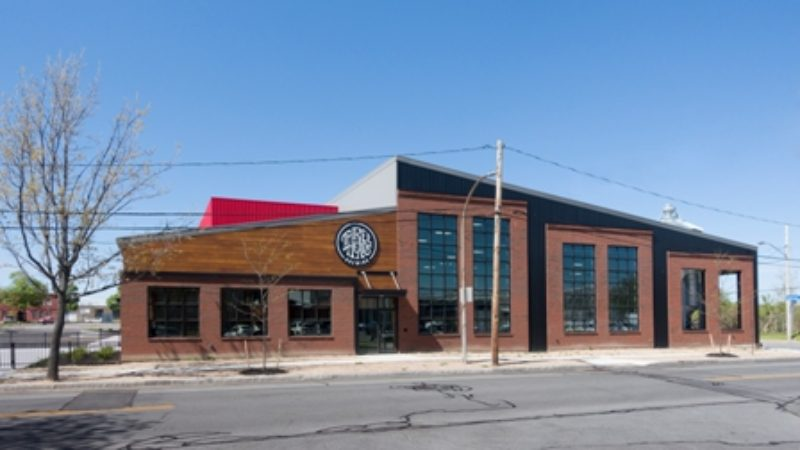 Metal Building Houses Brewery Metal Architecture