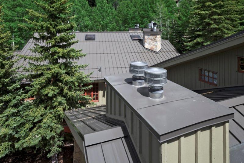 Metal Roof Tops Condo Building Metal Architecture