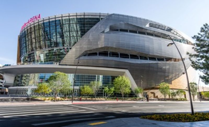 Arena Reflects Las Vegas Metal Architecture