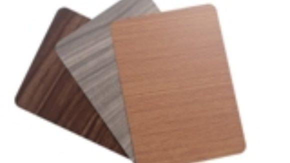 Panels produce woodgrain looks
