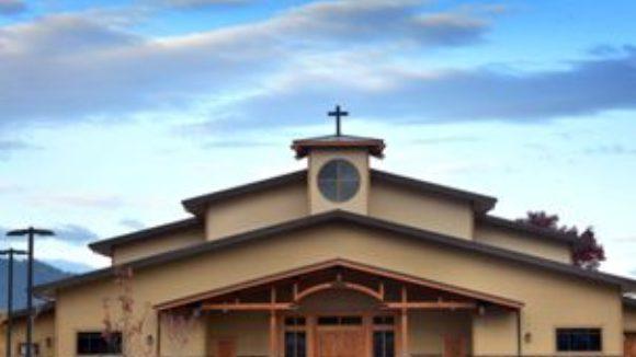 Metal heightens church design
