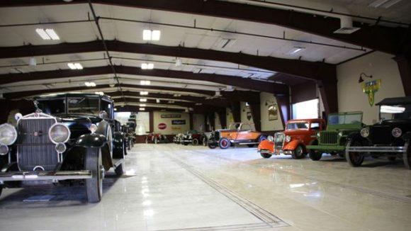Metal panels encase automotive museum