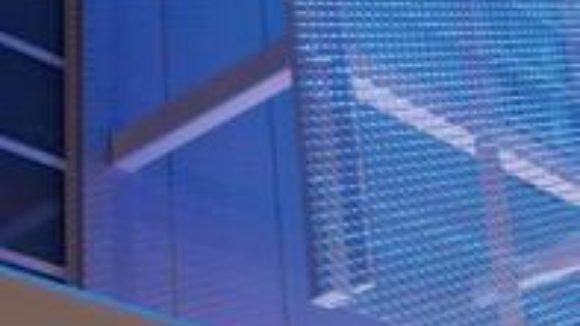AMICO Architectural Metals' APEX03 Expanded Aluminum Mesh
