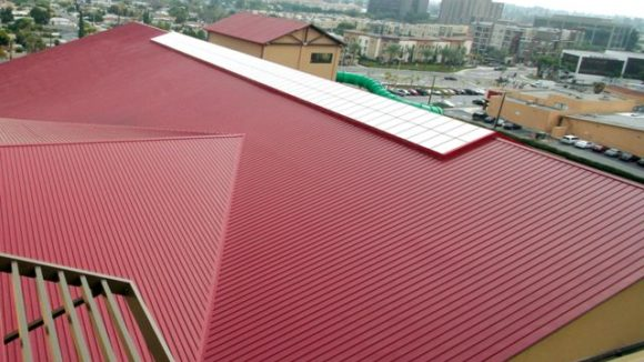 Resort's long roof panels require special installation