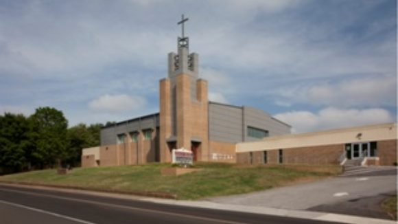 Church rebuilds with pre-engineered metal building