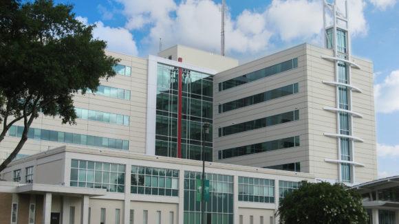 Hospital receives metal skin