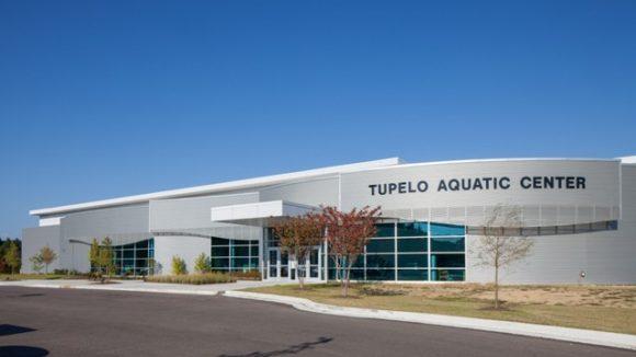 Aquatic center design calls for screenwall