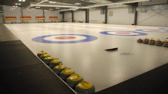 Metal building makes curling center