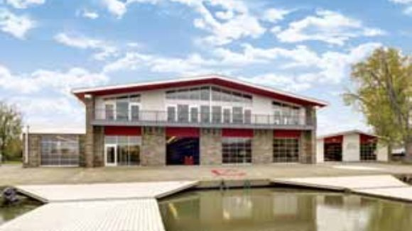 Cornell University Rowing Center, Ithaca, N.Y.,