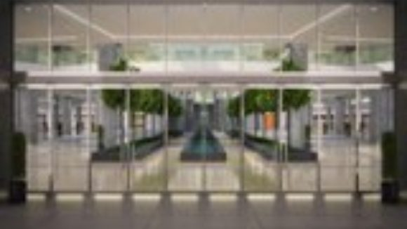 Glass storefront offers energy efficiency