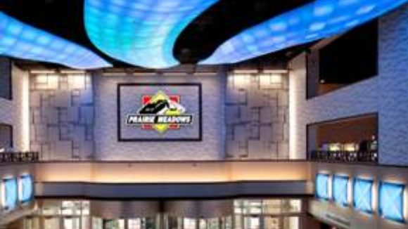 Casino renovation utilizes metal panels