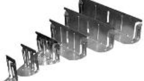 Deflection clips mount studs