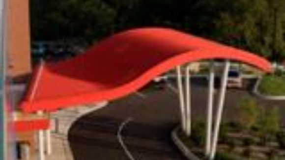 Curved Metal Roofing - September 2014
