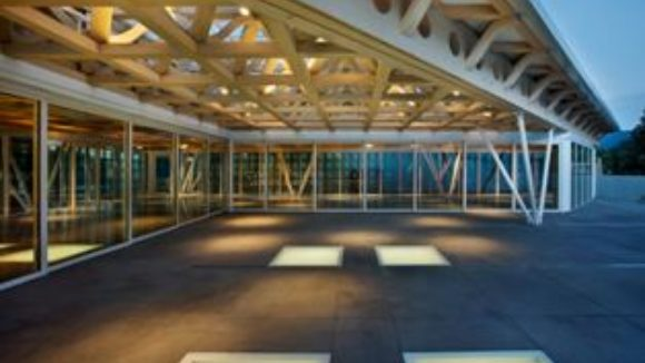 Museum design features curtainwall
