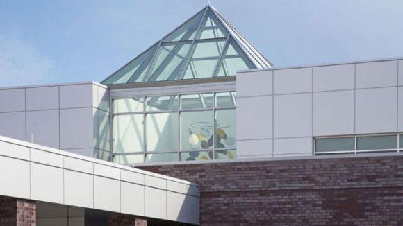 Skylight tops health care facility